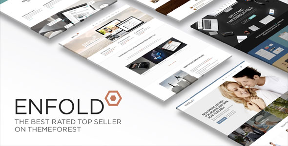 preview of Enfold WordPress theme