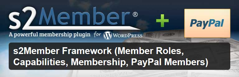 featured image for the S2Member PayPal subscription plugin